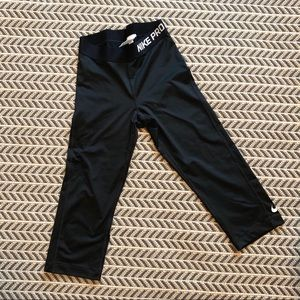Cropped Compression Leggings